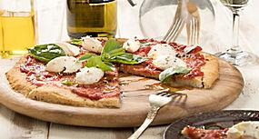 香槟披萨美食美味食物高清摄影照片图片图片