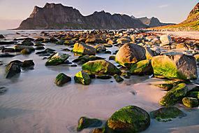 海岸岛屿景色图片