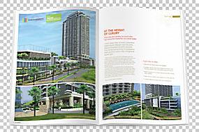 房地产开发商广告房地产海报屋,海报房地产商业建筑PNG剪贴画建筑图片