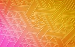 精美渐变色立体几何背景图图片图片