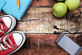 手机和苹果图片