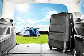 行李箱和风景