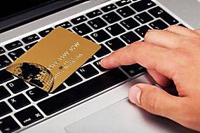 键盘上的卡片