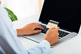 卡片和电脑