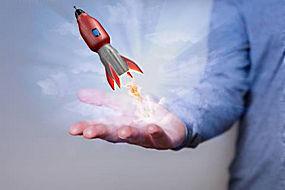 虚拟火箭图片