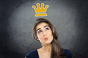美女和王冠