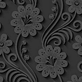 简洁灰色花纹背景矢量图片