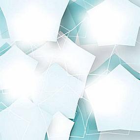 简洁炫彩几何图案背景