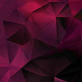简洁炫彩几何背景矢量图片