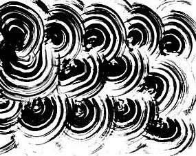 简洁黑色笔刷背景矢量图片