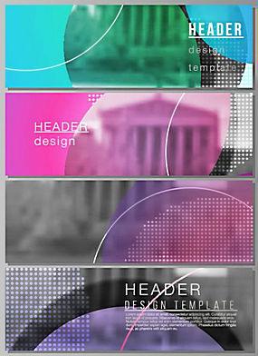 时尚企业海报banner图片图片