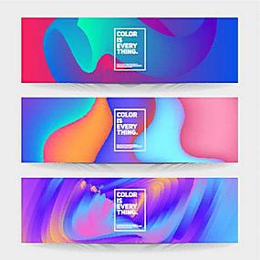 炫酷海报banner图片图片