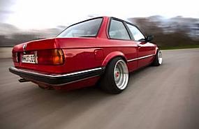 旧车,汽车,肌肉车,跑车,漂移,打火机,宝马,宝马E30,红色的汽车376