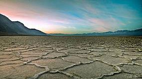 荒凉,摄影,景观,沙漠,山,死亡之谷,加州,盐湖,平原,天空,模式5951