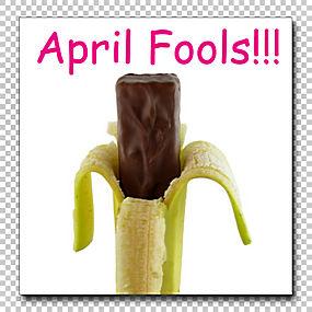 愚人节实用笑话趣味幽默,香蕉PNG剪贴画四月,水果坚果,笑话,小丑,图片