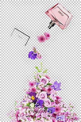 香水香奈儿花,花香水PNG剪贴画紫色,插花,紫罗兰色,化妆品,海报,图片
