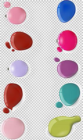 指甲油修指甲,颜色下降PNG剪贴画化妆品,海报,配件,颜色,买断式授图片
