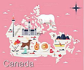国家指南旅游攻略美食名胜风景动物插图AI矢量素材 (11)