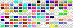 配色方案绘图自然色系,彩色绘图PNG剪贴画杂,矩形,其它的,对称,色图片